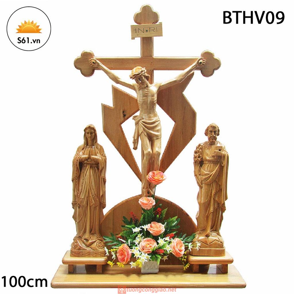 Bàn Thờ Chúa Mẫu 100cm Mã BTHV09