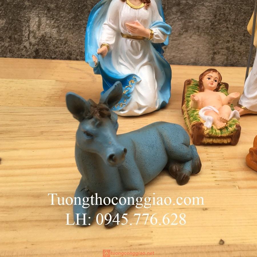 Bộ Tượng Giáng Sinh 17cm Mẫu Ý (5 Tượng) 05