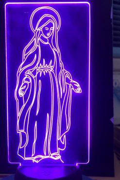 Đèn Thờ Led Đức Mẹ Ban Ơn 02