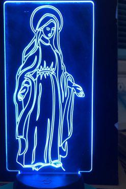 Đèn Thờ Led Đức Mẹ Ban Ơn 03