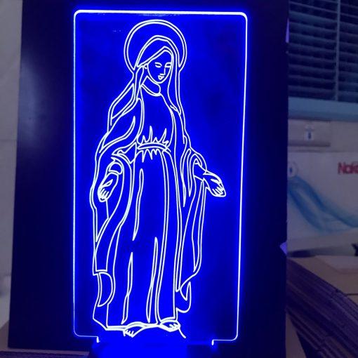 Đèn Thờ Led Đức Mẹ Ban Ơn 04