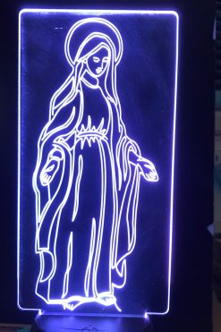 Đèn Thờ Led Đức Mẹ Ban Ơn 05