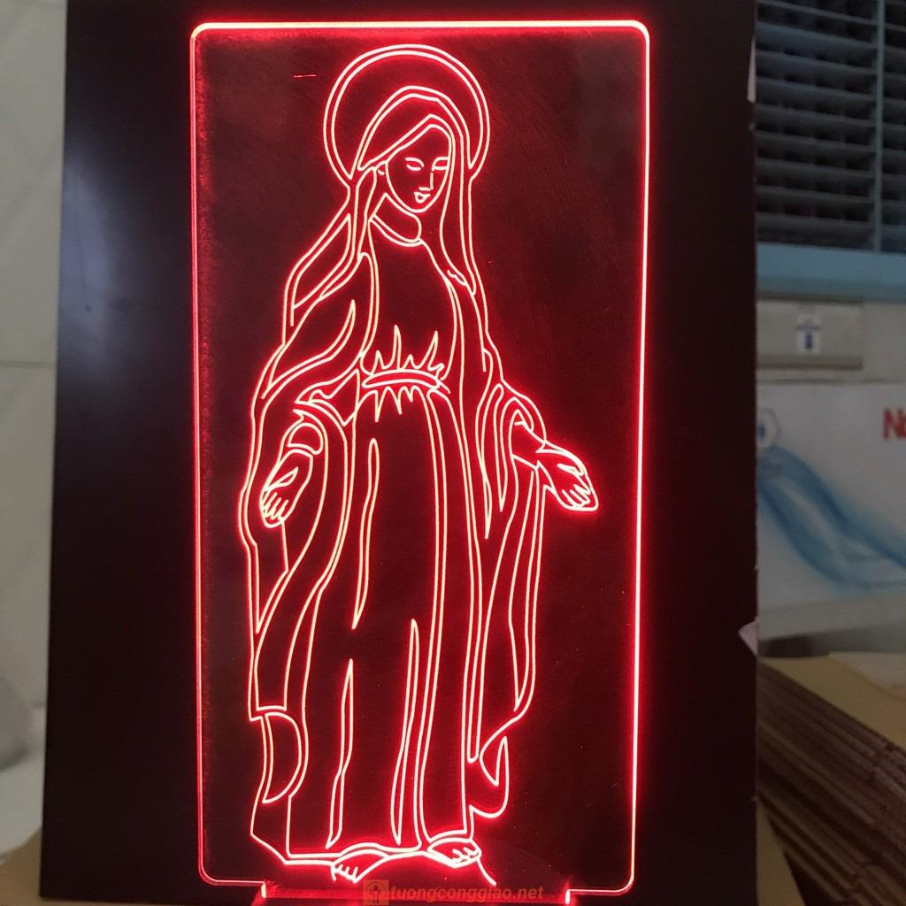 Đèn Thờ Led Đức Mẹ Ban Ơn 06