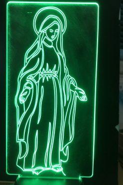 Đèn Thờ Led Đức Mẹ Ban Ơn 07