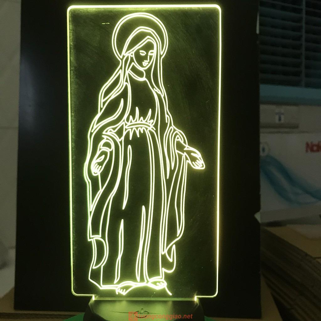 Đèn Thờ Led Đức Mẹ Ban Ơn