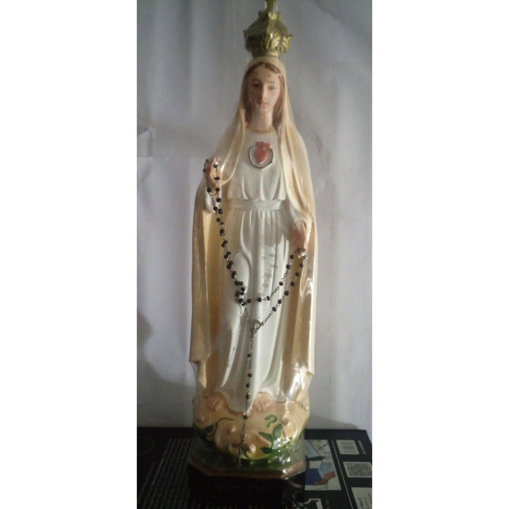 Đức Mẹ Fatima 40cm (2)