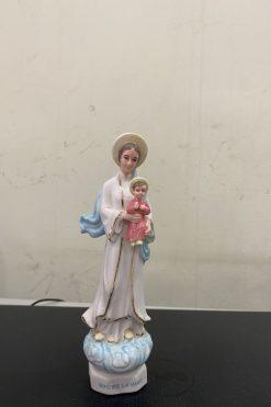 Đức Mẹ La Vang Gốm Sứ 16cm (2)