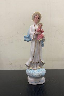 Đức Mẹ La Vang Gốm Sứ 16cm (4)