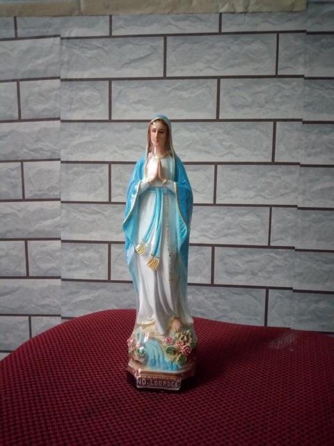 Đức Mẹ Lộ Đức Cao 10, 15, 30cm (2)