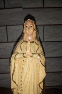 Đức Mẹ Lộ đức Màu Vàng 30cm (4)