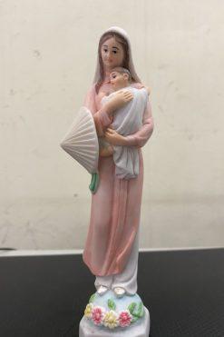 Đức Mẹ Nón Lá Gốm Sứ 07
