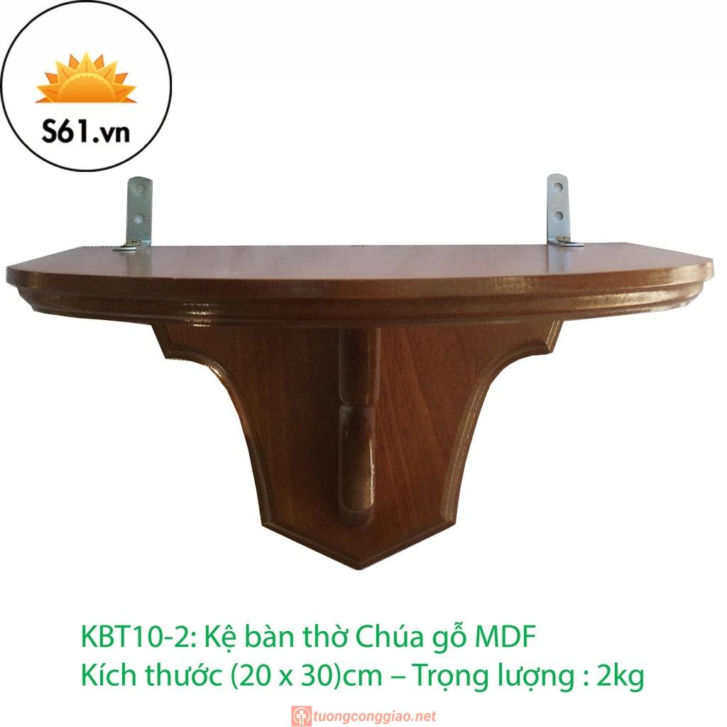 Kệ Bàn Thờ Công Giáo Gỗ MDF (20 X 30)cm