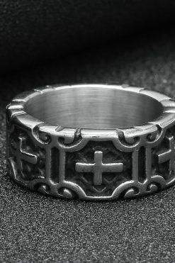 Nhẫn Hình Thánh Giá Thiết Kế Tinh Xảo độc đáo 03