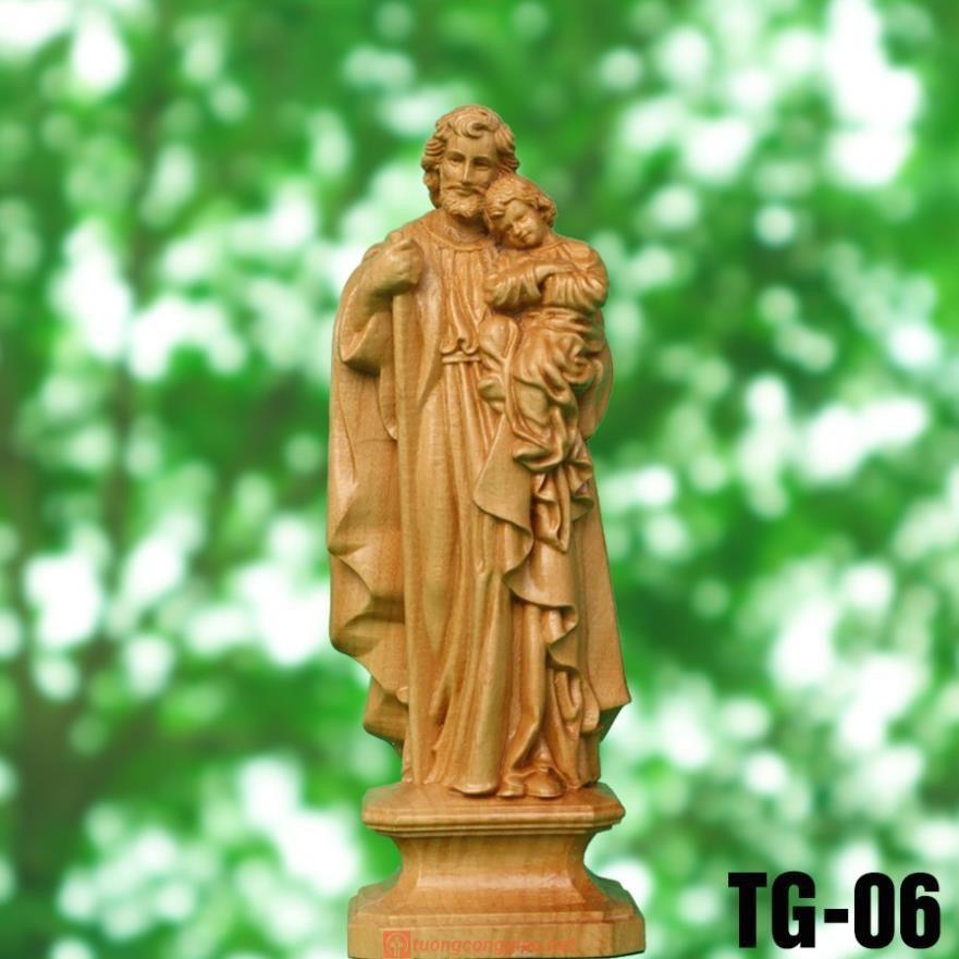 Thánh Giuse Bế Chúa(Cao 15cm)