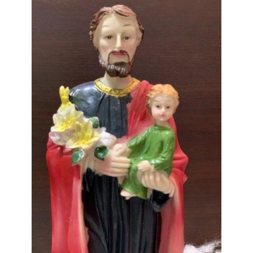 Thánh Giuse Bế Chúa Hài đồng Cao 30cm 02