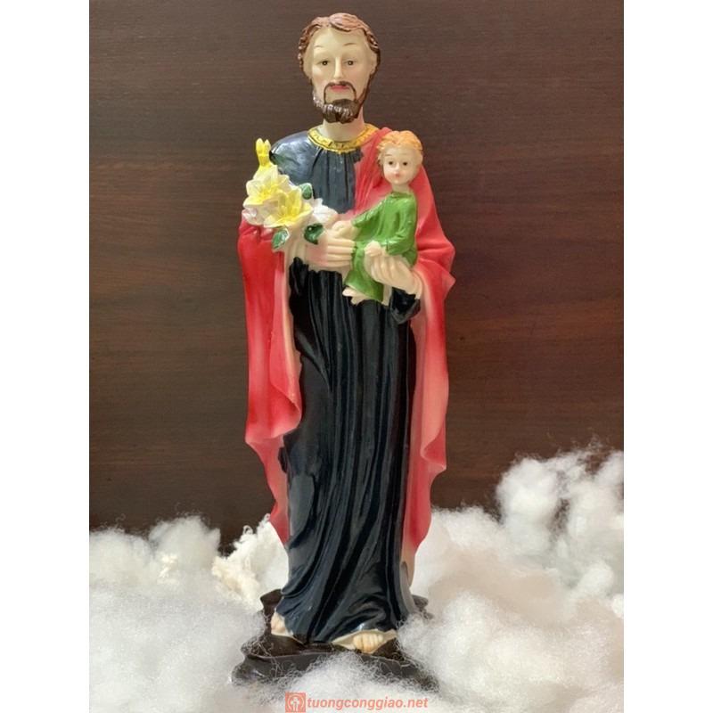 Thánh Giuse Bế Chúa Hài đồng Cao 30cm