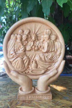 Tranh Công Giáo để Bàn Bức Tiệc Ly 02
