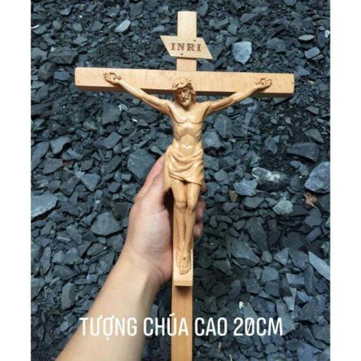 Tượng Chúa Chịu Nạn Cao 20cm