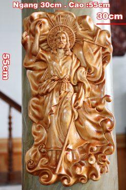 Tượng Chúa Khải Hoàn Cao 55cm