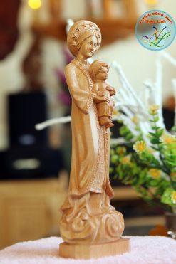 Tượng Đức Mẹ La Vang Cao 15cm 02
