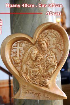 Tượng Gia đình Thánh Gia Trái Tim