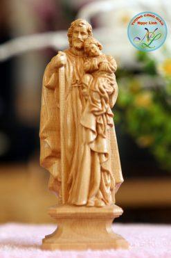 Tượng Thánh Giuse Bế Chúa 01