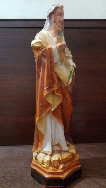 Tượng Thánh Giuse Thợ 40cm 03