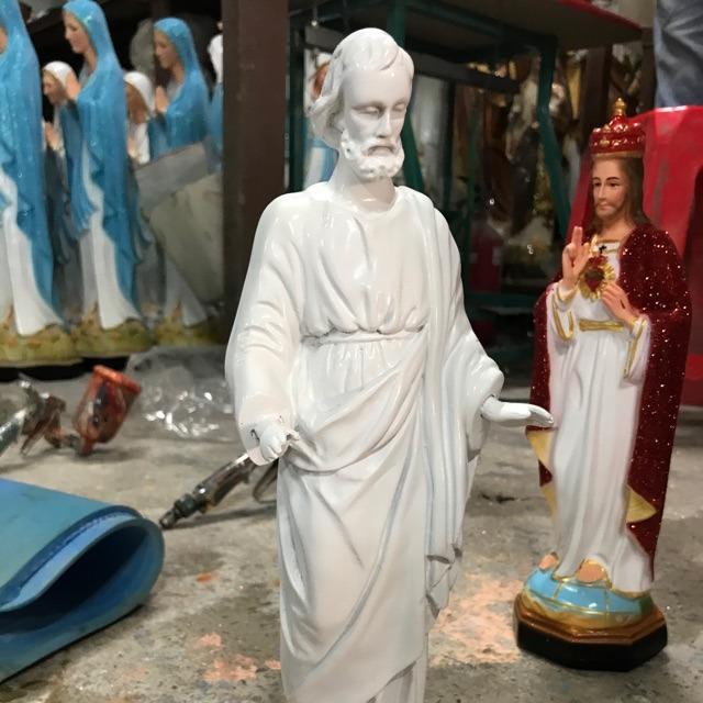 Tượng Thánh Giuse Ban ơn Mẫu ý 30cm (1)