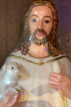 Tượng Chúa Chăn Chiên Cao 30cm Bột đá (1)