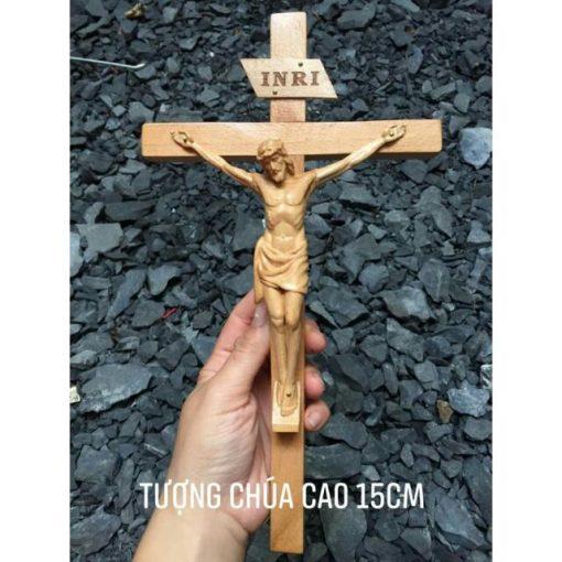 Tượng Chúa Chịu Nạn Cao 15cm
