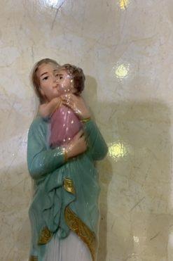Tượng đức Mẹ Bế Chúa Mẫu Dân Tộc Khơ Me (1)