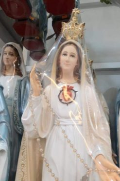 Tượng đức Mẹ Fatima 50cm 02