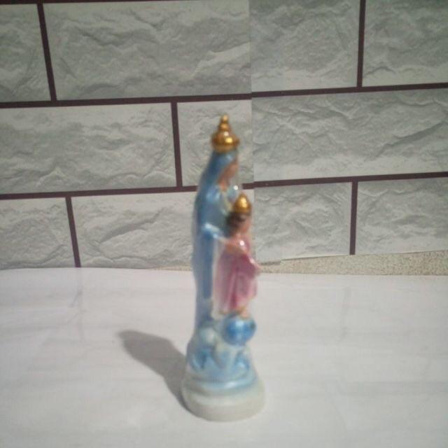 Tượng đức Mẹ Phù Hộ Các Giáo Hữu 15cm (2)
