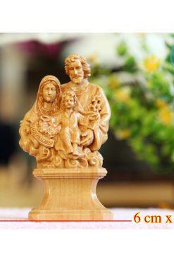 Tượng Gia đình Thánh Gia 12cm 01