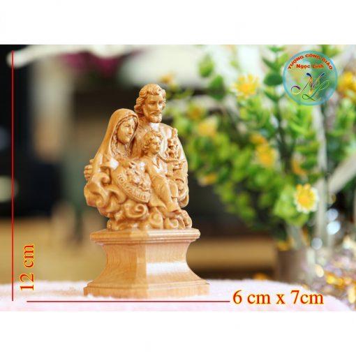 Tượng Gia đình Thánh Gia 12cm 02