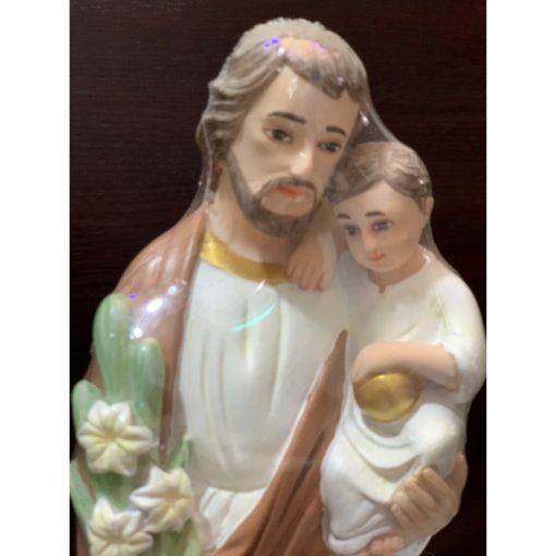 Tượng Thánh Giuse Cao 30cm Mẫu ý 02