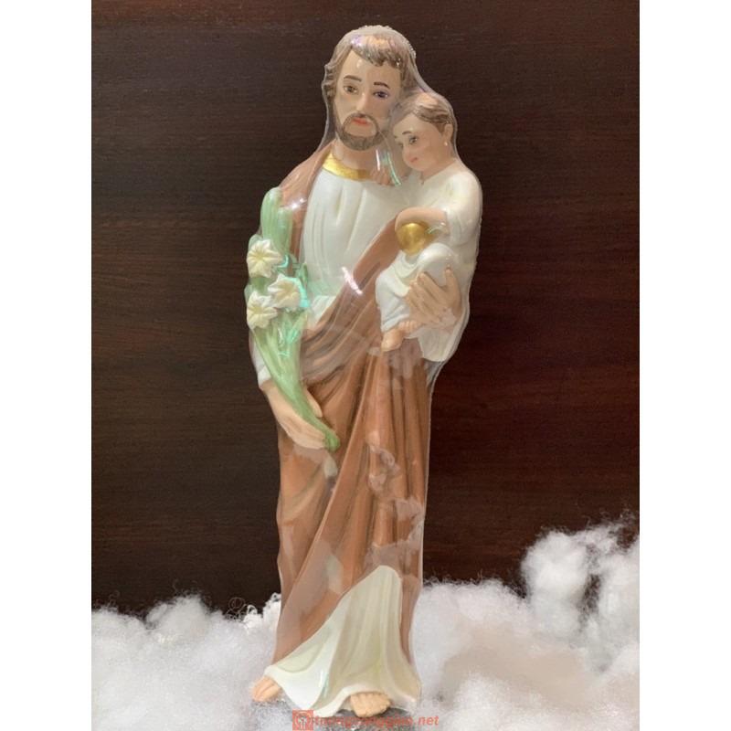 Tượng Thánh Giuse Cao 30cm Mẫu ý