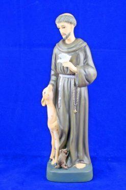 Tượng Thánh Phanxico Assisi Cao 30cm