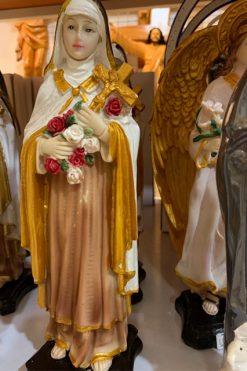 Tượng Thánh Teresa Chúa Hài đồng 30cm (2)