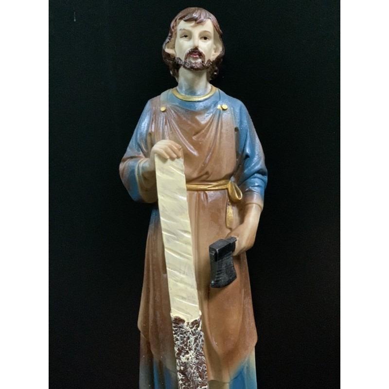 Tượng Thánh Giuse Cao 30cm Giả Cổ (1)