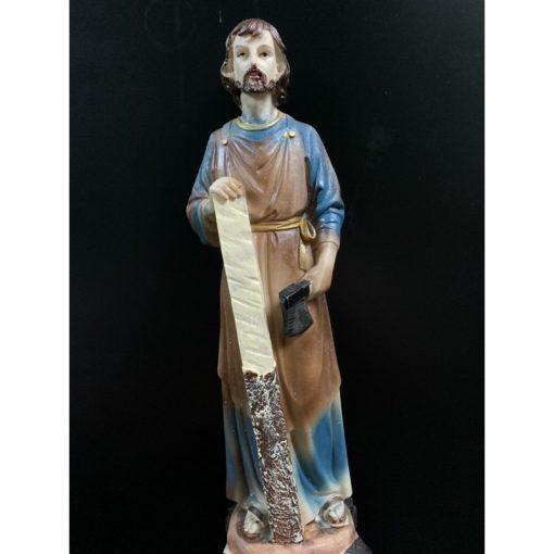 Tượng Thánh Giuse Cao 30cm Giả Cổ (2)