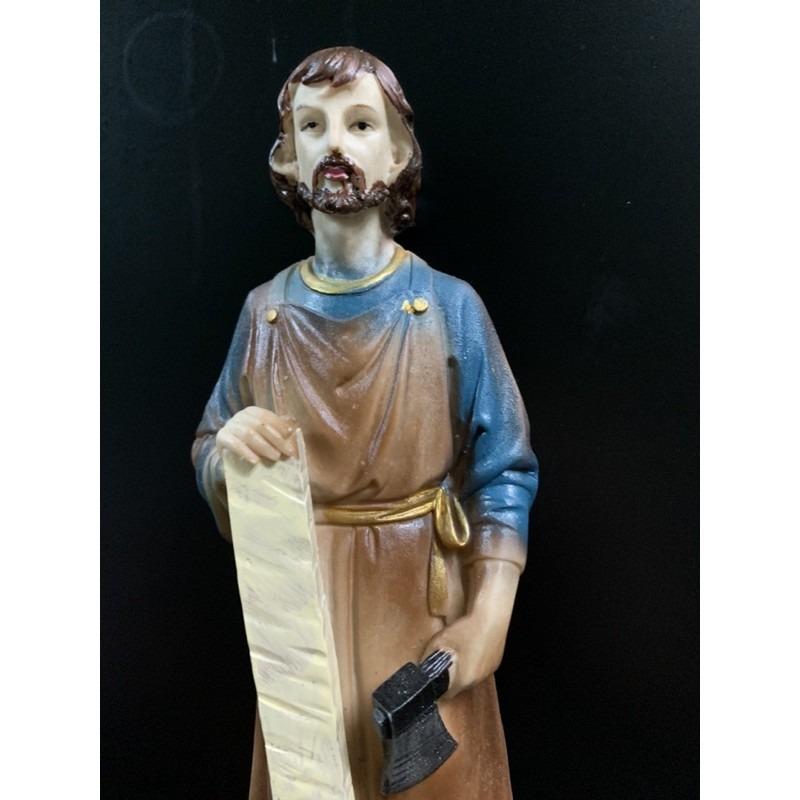 Tượng Thánh Giuse Cao 30cm Giả Cổ (3)