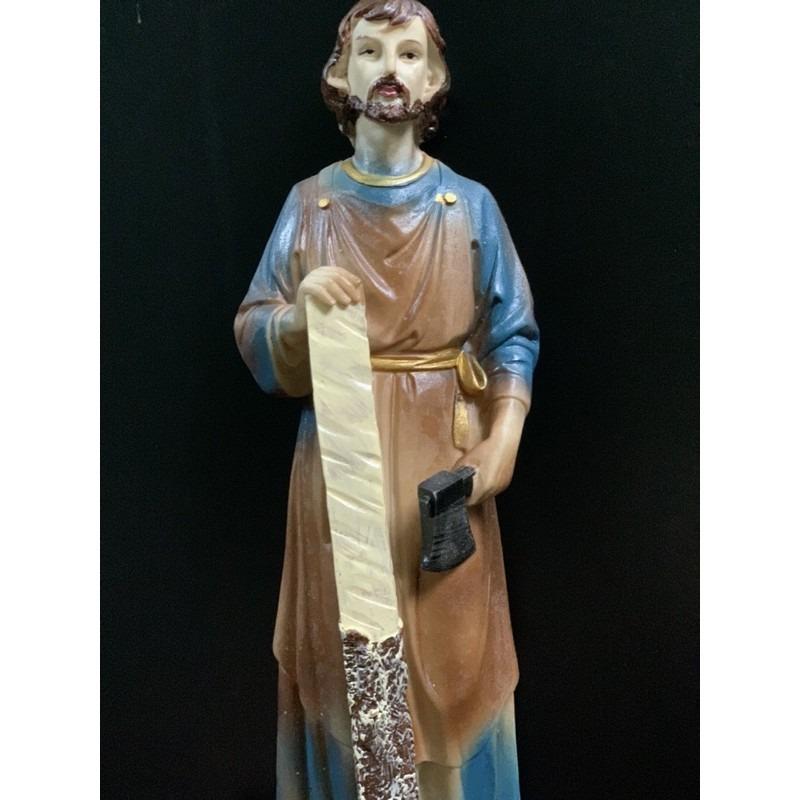 Tượng Thánh Giuse Cao 30cm Giả Cổ (5)