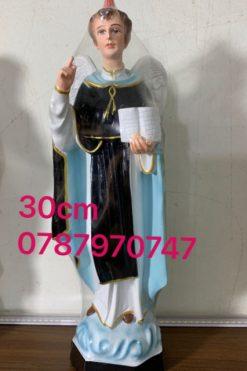 Tượng Thánh Vinh Sơn ( Vincente) 30cm