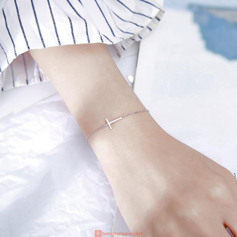 Vòng đeo Tay Hình Thánh Giá Xinh Xắn Dành Cho Nữ 03