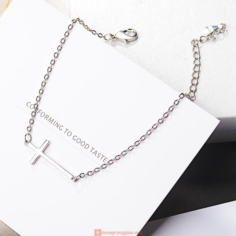 Vòng đeo Tay Hình Thánh Giá Xinh Xắn Dành Cho Nữ 04