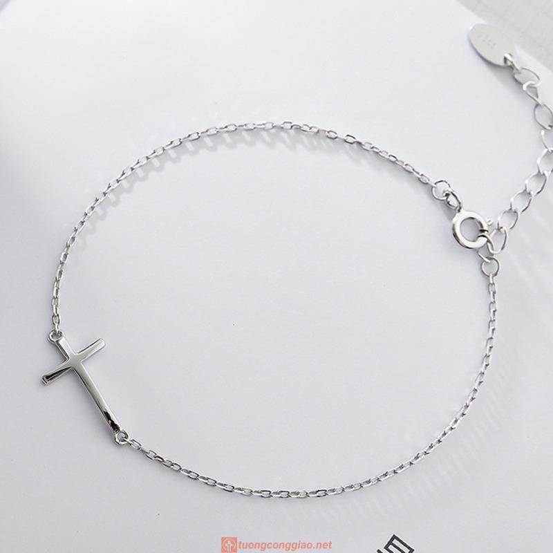 Vòng đeo Tay Hình Thánh Giá Xinh Xắn Dành Cho Nữ 09