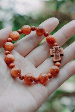 Vòng Tay Gỗ Công Giáo 02