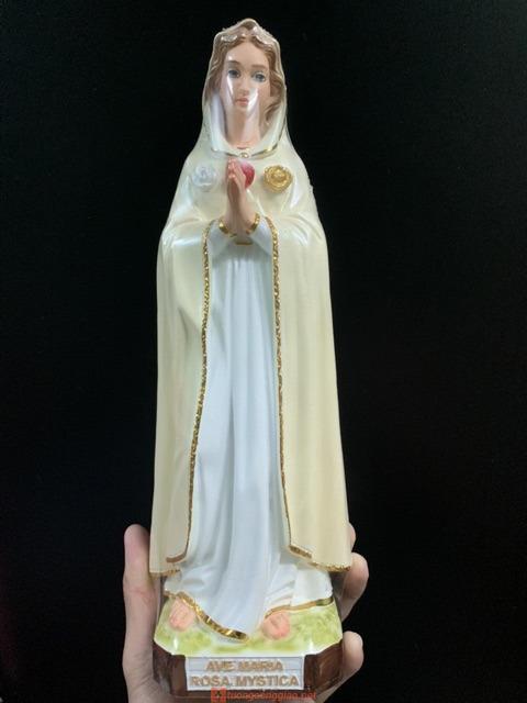 đức Mẹ Hoa Hồng Cao 30cm 02