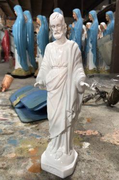 Tượng Thánh Giuse Ban ơn Màu Trắng
